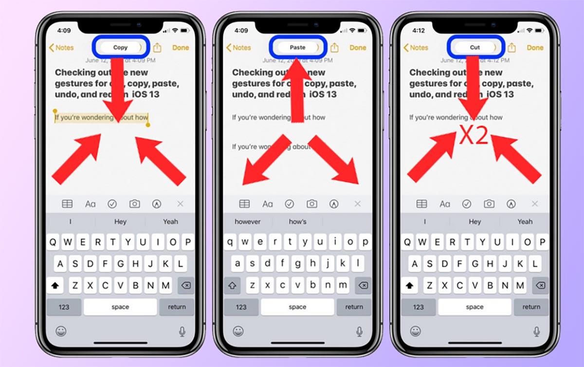 9 полезных жестов на iPhone, которые ускоряют работу с текстом в iOS